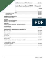 308-03B - Caixa de Mudanças MTX75