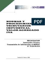 Instructivo Tecnico Retenciones Iva Actualizado