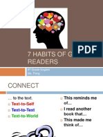 7 Habits of Good Readers