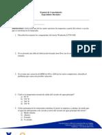 Examen de Conocimiento Esp. Mecanico