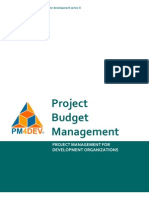 PM4DEV - Project Budget Management