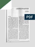 A Sociologia do Trabalho na América Latina - paradigmas teóricos e paradigmas produtivos