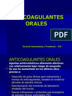 ANTICOAGULANTES ORALES 1