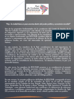 Redcisur El papel y los objetivos de la Integración Regional