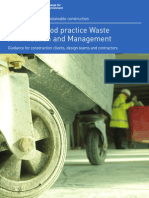 Achieving Good Practice Waste Minimisation and Management