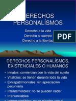 Derechos Personalisimos