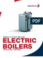 Electric Boiler Brochure