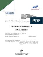 Clandestino Final Report November 20091