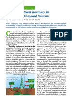 2004.. Fertilizer Nutrient Recovery in Sustainable Cropping Systems