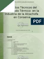 Aspectos Técnicos del Procesado Térmico  en la Industria de la Alcachofa  en Conserva