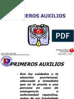 Primeros Auxilios Presentacion Oficial Heridas y Trauma