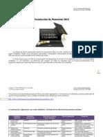 Preselección ponencias Congreso Virtual Mundial de e-Learning 2013