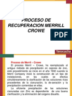Proceso de Recuperacion Merril Crowe