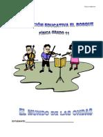 GUÍA FÍSICA11. ONDAS - TERCER PERIODO
