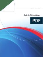 Guía Matemáticas PAI