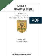 Modul 1 Peraturan Norma Dan Standar k3