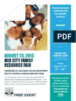 Mid City Family Resource Fair