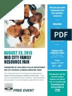 Mid City Family Resource Fair