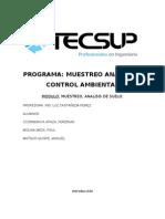 Informe de Analisis de Suelo Ferdinan - Tecsup