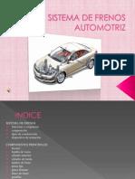 Sistema de Frenos Automotriz