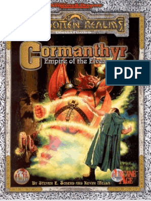 Cormanthyr Empire of the Elves | Elf (Dungeons & Dragons) | Drow