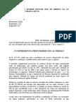 PRÁTICA JURÍDICA II - MODELO CUMPRIMENTO PROVISÓRIO DE SENTENÇA