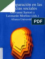 158832272 Sartori G Morlino L Eds 1991 La Comparacion en Las Ciencias Sociales Alianza Editorial