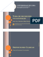 Toma de Decisiones Vocacionales [parte01]