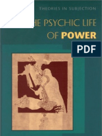 Judith Butler the Psychic Life of Power Theories in Subjection 1997