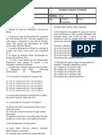avaliação de educação fisica 8ª serie