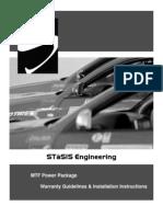 STaSIS K04 Install