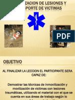 Estabilizacion de Lesiones y Transporte de Victimas