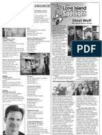 STEEL WOLF in GOOD TIMES magazine Long Island Spotlight