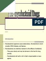 Anti Mycobacterial Drugs
