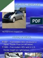 Hybrid Electric Vehicles  system