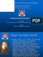 Teoria Del Costo de Adam Smith Presentacion