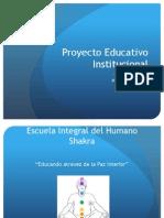 P. E. I Proyecto Educativo Educacional
