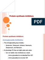 Protein Synthesis Inhibitors