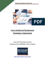 Curso Analista de Planejamento Estratégico e Operacional METHODUS ENSINO A DISTÂNCIA