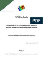 Tutorial GeoDa