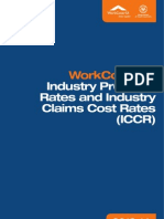 Workcover Industry Rates