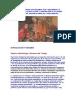 Produccion de Coca en Bolivia y Desarrollo Alternativo Legislacion