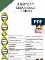 Genetica y Desarrollo Humano