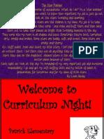 curriculum night13