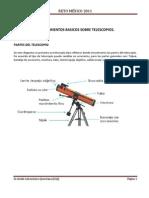 Conocimientos Basicos de Telescopios