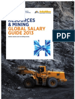 Resources & Mining Salary Guide 2013