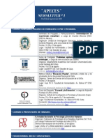 Apeces - Newsletter N 1. 19-14.8.2013