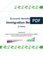 Immigration Reform Iowa Facts