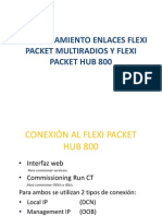 Comisionamiento Enlaces Flexi Packet Multiradios y Flexi Packet