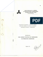 Manual Para Buenas Practicas de Fabricacion de Productos Cosmeticos